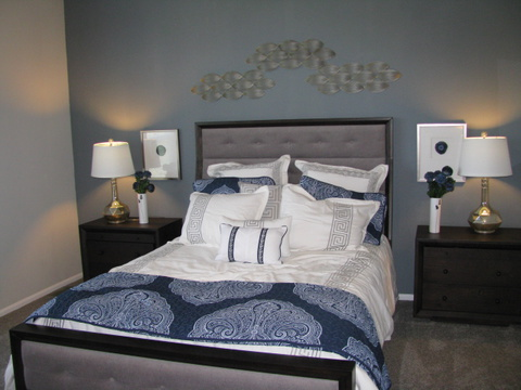Master bedroom - The Casa Grande AD28764A by Palm Harbor Homes