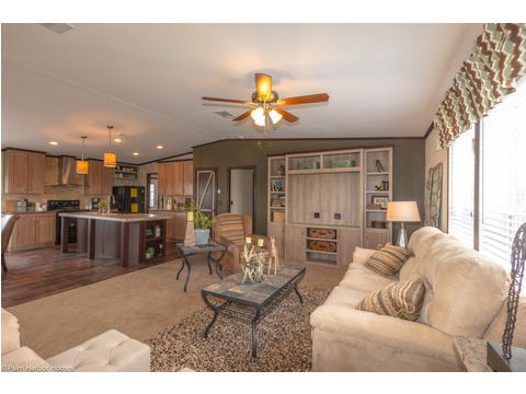 Living room - The Great Escape by Palm Harbor Homes
