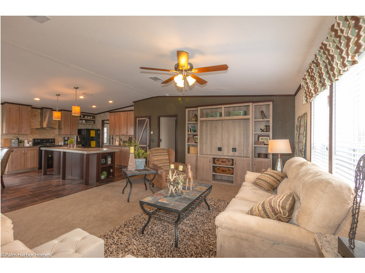 Living Room   The Great Escape By Palm Harbor Homes