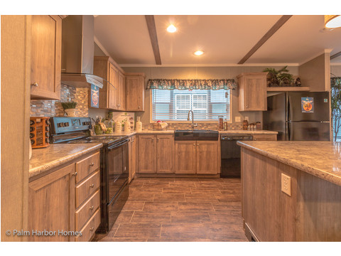 Kitchen - The Super Saver Carrington 4 SA30764C by Palm Harbor Homes