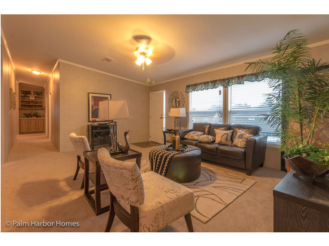 Living room - The Super Saver Carrington 4 SA30764C by Palm Harbor Homes