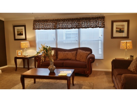 Living Room - The Picasso GLT476X2 by Palm Harbor Homes