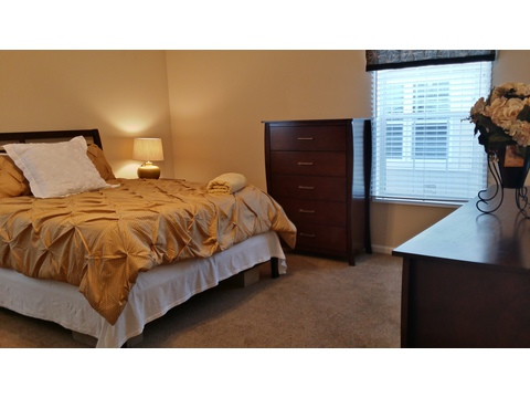 Master Bedroom - The Picasso GLT476X2 by Palm Harbor Homes