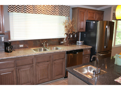 Ask about our stainless steel appliance package.  The Casa Grande by Palm Harbor Homes - 4 Bedrooms, 3 Baths, 2520 Sq. Ft.