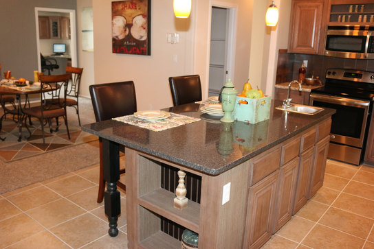tons of additional storage in the kitchen island  the casa grande by palm harbor homes   4 bedrooms 3 baths 2520 sq  ft  palm harbor homes tyler texas featured floor plan  the casa      rh   palmharbor com