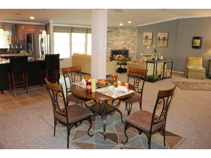 Open Floor Plan Allows For Easy Access Between The Living Room, Kitchen And  Dining Room