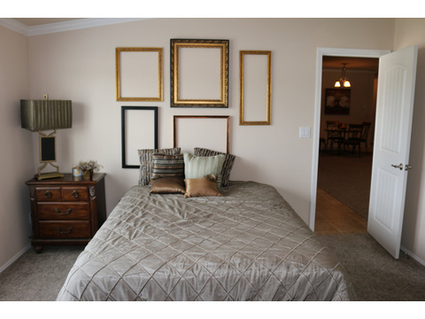 Spacious Master Bedroom in the Casa Grande by Palm Harbor Homes - 4 Bedrooms, 3 Baths, 2520 Sq. Ft.