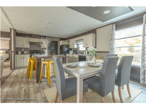 Kitchen and dining area - Model 28645A