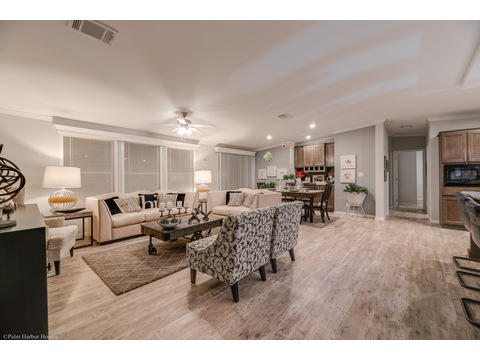 Living Room - Malibu by Palm Harbor Homes, 3 Bedrooms, 2 Baths, 1,800 Sq. Ft.