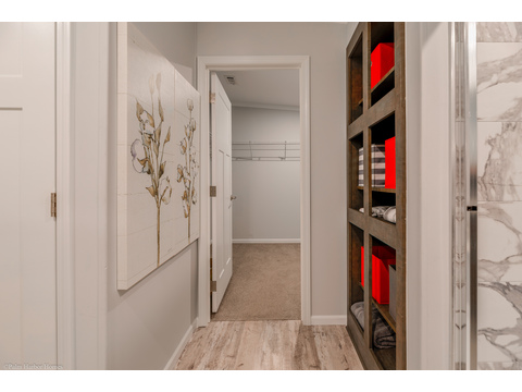 Plenty of storage in the master suite - Malibu by Palm Harbor Homes, 3 Bedrooms, 2 Baths, 1,800 Sq. Ft.