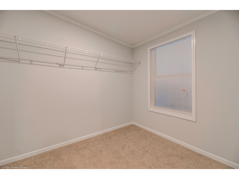 Walk-in closet in master suite - Malibu by Palm Harbor Homes, 3 Bedrooms, 2 Baths, 1,800 Sq. Ft.