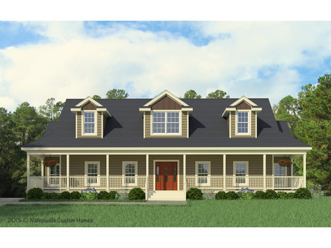 Craftsman Elevation - The Greenbrier I by Palm Harbor Homes