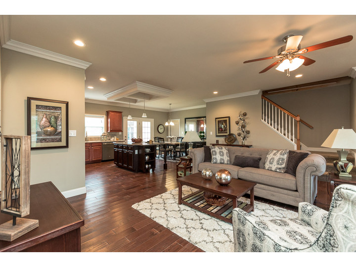 Beautiful Living Area In The Greenbrier Modular Home Is A Palm Harbor Model  Built By Nationwide