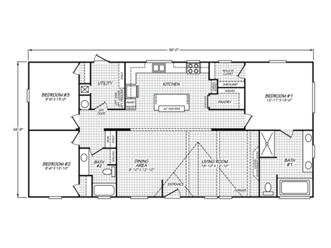 >Celebration 28563B Floor Plan