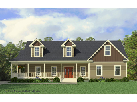 Craftsman Elevation - The Greenbrier II by Palm Harbor Homes