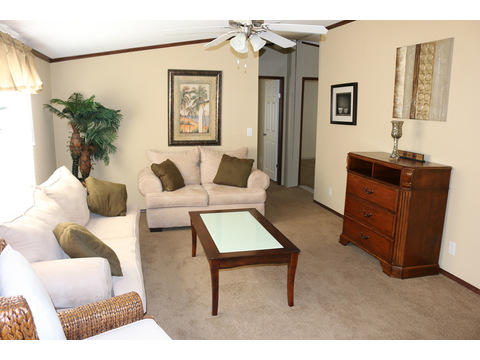 Model 28764P Family Room by Palm Harbor Homes - 4 Bedrooms, 2 Baths, 2,026 Sq. Ft.