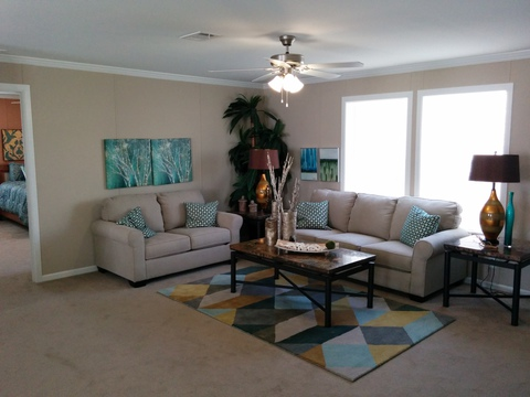 Living room - Barbados T3646T by Palm Harbor Homes