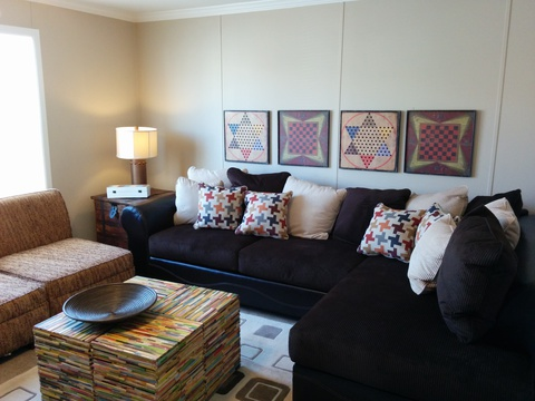 Family room - Barbados T3646T by Palm Harbor Homes