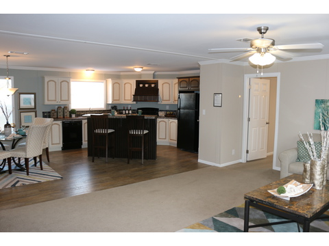 Open floor plan perfect for entertaining - Barbados T3646T by Palm Harbor Homes
