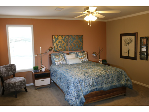 Master bedroom - Barbados T3646T by Palm Harbor Homes