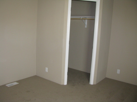 Bedroom Number 3 with a walk-in closet and lots of space!!