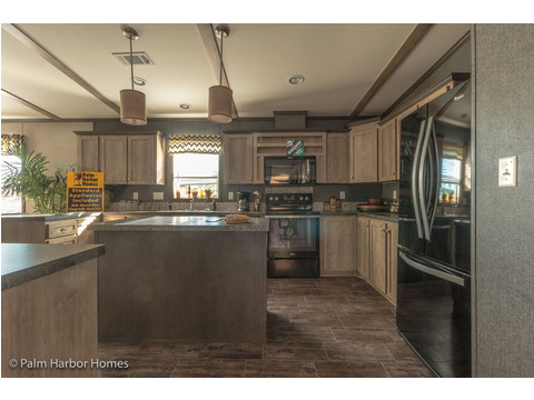 Kitchen - The Super Saver Benbrook SA28644B by Palm Harbor Homes