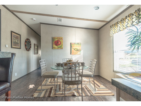 Dining room - The Super Saver Benbrook SA28644B by Palm Harbor Homes