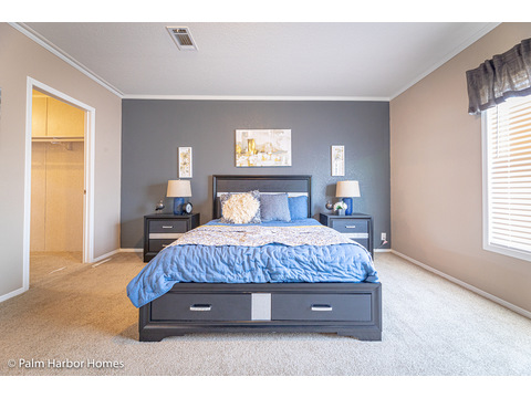 Spacious Master Bedroom - The Kensington MLP356A6 or ML28563K by Palm Harbor Homes