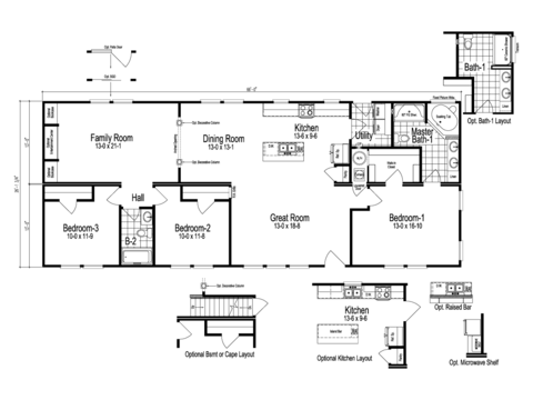>The Sheridan Floor Plan