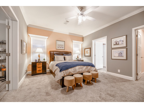 Tradewinds Master Bedroom by Palm Harbor Homes - 4 Bedrooms, 3 Baths, 2595 Sq. Ft.