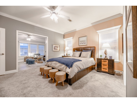 The Tradewinds Master Bedroom Suite by Palm Harbor Homes - 4 Bedrooms, 3 Baths, 2595 Sq. Ft. - Triple Wide Manufactured Home