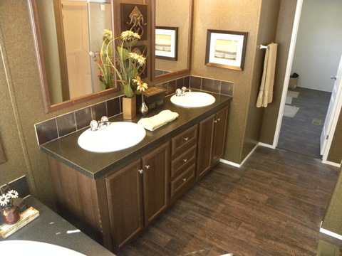 His and Hers dual vanity--Marriage saver :) - The Appaloosa GLP356A1 by Palm Harbor Homes