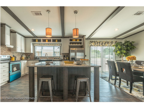Kitchen - The Carrington 76 Model ML30764C by Palm Harbor Homes