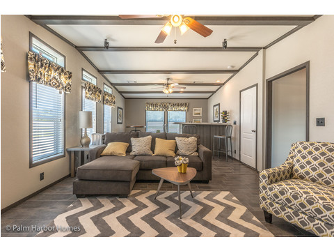 Family room - The Carrington 76 Model ML30764C by Palm Harbor Homes