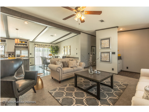 Living room - The Carrington 76 Model ML30764C by Palm Harbor Homes