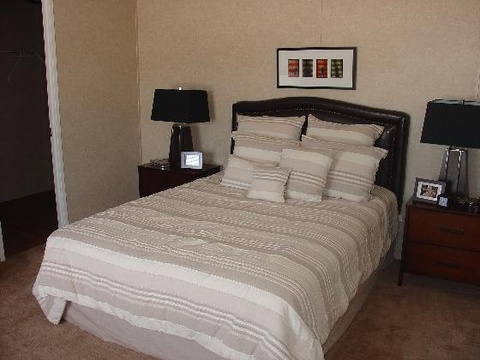 The Pinehurst II by Palm Harbor Homes - The master bedroom...Plenty of space for a King or Queen size bed and all of your furniture...