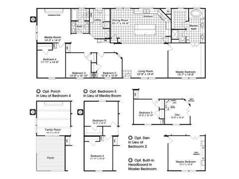 >The Homerun HRT472A6 Floor Plan and Options