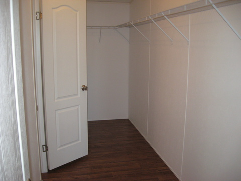 Huge walk-in closet - The Pecan Valley IV KAT474A1 by Palm Harbor Homes