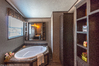 HUGE soaker tub! How would you like to come home and soak away the days stress? You certainly can in the Momentum III double wide manufactured home by Palm Harbor Homes 4 Bedrooms, 2 Baths, 1,860 Sq. Ft.