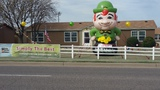 Look for the Leprechaun on South Shields Boulevard and come in to save big!