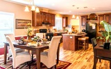 villager kitchen & dinning room