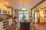 The dining room of the Sonora II by Palm Harbor Homes in Round Rock, TX