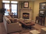Cozy Living Area Great for Family Gatherings