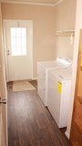 Homes are already equipped with brand new washer & dryers!
