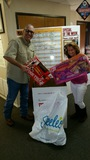 We appreciate your donations to Toys for Tots here at Palm Harbor Homes!