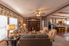 Living room seen from entrance - The Arlington ML30523A by Palm Harbor Homes