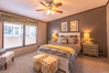 Master bedroom - The Arlington ML30523A by Palm Harbor Homes