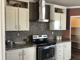 Full Rock Kitchen Backsplash
