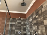 Dual Shower Heads in Master Bath