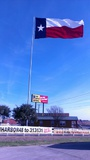 Palm Harbor-Buda is just South of Austin on Highway 35 - - Just look for the biggest Texas flag in the state!